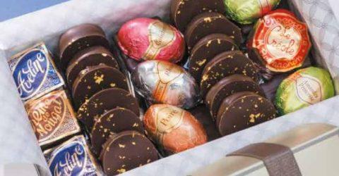 Chocolates from Bernachon in Lyon, France
