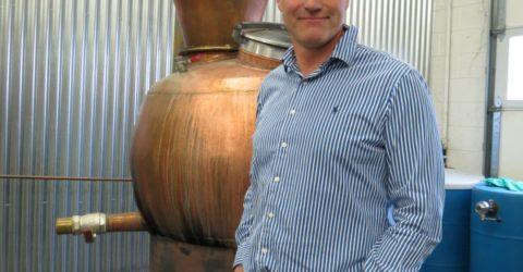 Alastair Brogan of the Vapor Distillery in Boulder, Colorado